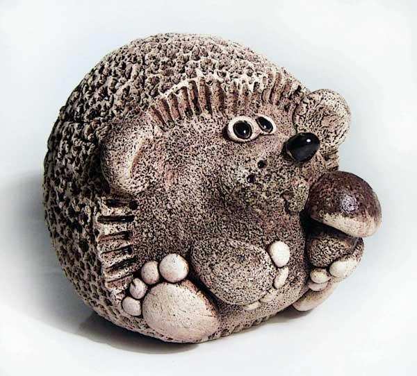 Ёжик с грибочком